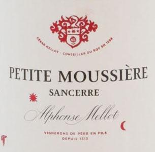 Alphonse Mellot Sancerre Petite Moussiere Rouge Loire France pour Lindaboie