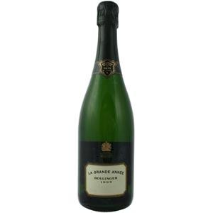 Champagne Bollinger Grande Année pour Lindaboie
