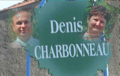 Denis Charbonneau et sa femme